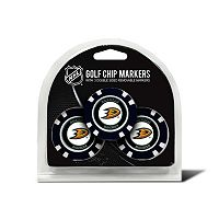 Team Golf Anaheim Ducks 3-pack Poker Chip Ball Markers