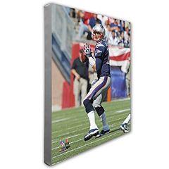 Tom Brady New EnglandPatriots 16' x 20' Canvas Photo