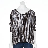 Rock & Republic® Tie-Dye Dolman Tee - Women's