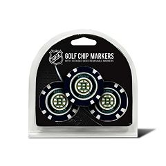 Team Golf Boston Bruins 3-pack Poker Chip Ball Markers