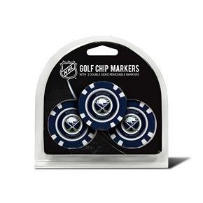Team Golf Buffalo Sabres 3-pack Poker Chip Ball Markers