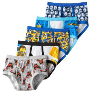 Boys 4-8 The LEGO Movie 5-Pack Briefs