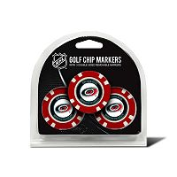 Team Golf Carolina Hurricanes 3-pack Poker Chip Ball Markers