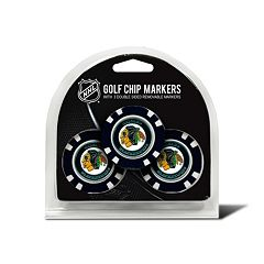 Team Golf Chicago Blackhawks 3-pack Poker Chip Ball Markers