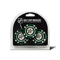 Team Golf Dallas Stars 3-pack Poker Chip Ball Markers