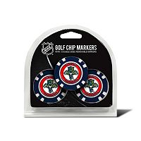 Team Golf Florida Panthers 3-pack Poker Chip Ball Markers