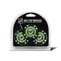 Team Golf Minnesota Wild 3-pack Poker Chip Ball Markers