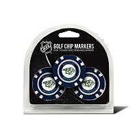 Team Golf Nashville Predators 3-pack Poker Chip Ball Markers