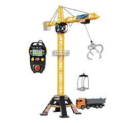 Dickie Toys Remote Control Mega Crane Set