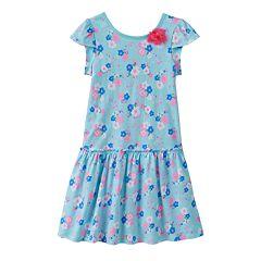 Toddler Girl Jumping Beans® Print Twist-Back Dress