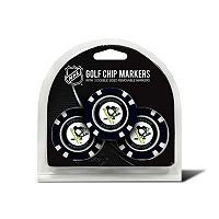Team Golf Pittsburgh Penguins 3-pack Poker Chip Ball Markers