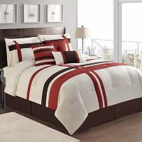 VCNY Berkley Red 7 pc Comforter Set