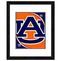 Auburn Tigers Team Logo Framed 11