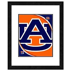 Auburn Tigers Team Logo Framed 11' x 14' Photo