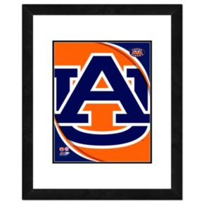 "Auburn Tigers Team Logo Framed 11"" x 14"" Photo"