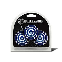 Team Golf Toronto Maple Leafs 3-pack Poker Chip Ball Markers