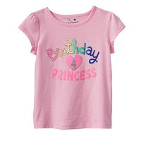 Toddler Girl Jumping Beans® Birthday Tee