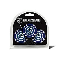 Team Golf Vancouver Canucks 3-pack Poker Chip Ball Markers