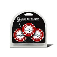 Team Golf Washington Capitals 3-pack Poker Chip Ball Markers