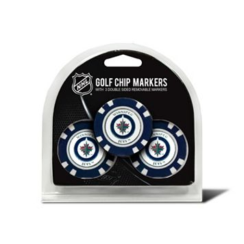 Team Golf New York Jets 3-pack Poker Chip Ball Markers