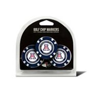 Team Golf Arizona Wildcats 3-pack Poker Chip Ball Markers