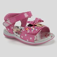Disney's Minnie Mouse Toddler Girls' Light-Up Sandals
