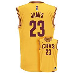 adidas Cleveland Cavaliers LeBron James NBA Replica Jersey - Boys 8-20