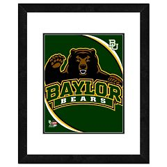 Baylor Bears Team Logo Framed 11' x 14' Photo