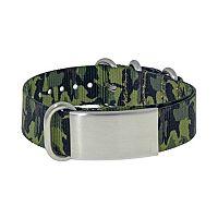 LYNX Stainless Steel Camouflage ID Bracelet - Men