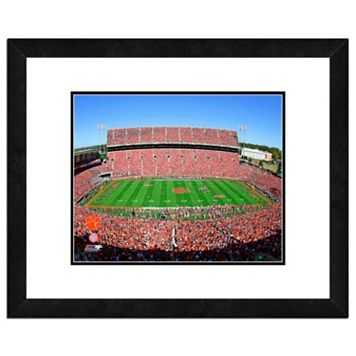 Clemson Tigers Stadium Framed 11