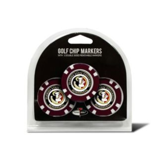 Team Golf Florida State Seminoles 3-pack Poker Chip Ball Markers