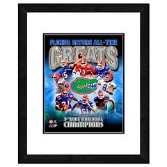Florida Gators All-Time Greats Framed 11' x 14' Photo