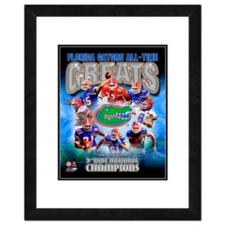 "Florida Gators All-Time Greats Framed 11"" x 14"" Photo"