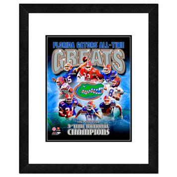 Florida Gators All-Time Greats Framed 11