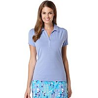 Women's Grand Slam Ruched Golf Polo