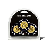 Team Golf Georgia Tech Yellow Jackets 3-pack Poker Chip Ball Markers
