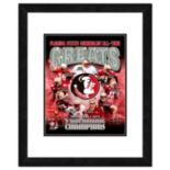 """Florida State Seminoles All-Time Greats Framed 11"""" x 14"""" Photo"""