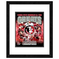 Florida State Seminoles All-Time Greats Framed 11