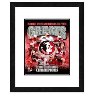 "Florida State Seminoles All-Time Greats Framed 11"" x 14"" Photo"