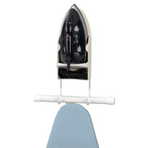 Household Essentials Wall-Mount Iron and Ironing Board Caddy