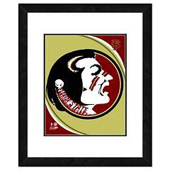 Florida State Seminoles Team Logo Framed 11' x 14' Photo