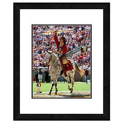 Florida State Seminoles Mascot Framed 11' x 14' Photo