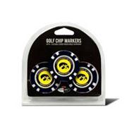 Team Golf Iowa Hawkeyes 3-pack Poker Chip Ball Markers
