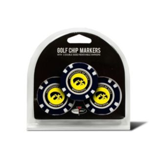 Team Golf Iowa Hawkeyes 3-pack Poker Chip Ball Markers