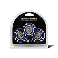 Team Golf Kansas Jayhawks 3-pack Poker Chip Ball Markers