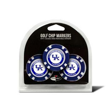 Team Golf Kentucky Wildcats 3-pack Poker Chip Ball Markers