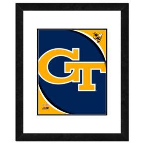 "Georgia Tech Yellow Jackets Team Logo Framed 11"" x 14"" Photo"