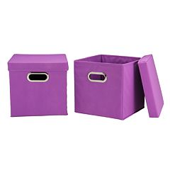 Household Essentials 2-pk. Collapsible Storage Bins
