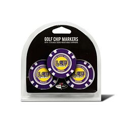 Team Golf LSU Tigers 3-pack Poker Chip Ball Markers