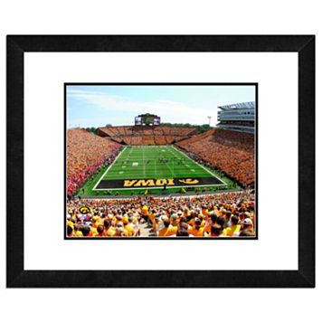 Iowa Hawkeyes Stadium Framed 11